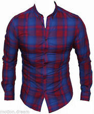 Classic Fit Plaids & Checks Casual Shirts for Men
