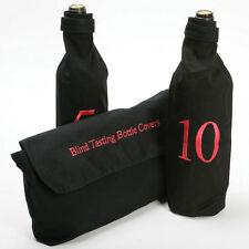 Blind Wine Tasting Bottle Sleeves / Covers (Numbered 1-10)