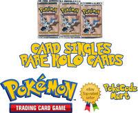 Pokemon TCG Fossil Set Rare Holos Holofoil Shiny Selection (/62)