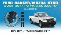 ProVent Oil Catch Can DIY Kit for Ford Ranger PJ PK Mazda BT50 2006-11 2.5L 3L