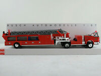 "Busch 46031 LaFrance Leitertrailer Cabrio ""Fire Department"" 1:87/H0 NEU/OVP"