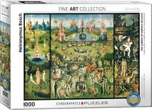 Eurographics  1000 Piece Jigsaw The Garden of Earthly Delights EG60000830