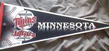"MINNESOTA TWINS  MLB TAG EXPRESS/TRENCH PENNANT FLAG  ... 1995....30"" Felt"