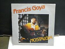 FRANCIS GOYA Nostalgia DIS 7800 BELGIQUE