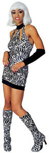 ***SALE*** Fancy Dress Costume ~ Wild Thang Zebra Hot Chick Medium 10-12