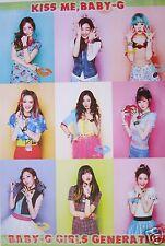 """Girls Generation """"Kiss Me, Baby-G"""" Asian Poster - K-Pop Music, Korean Girl Group"""