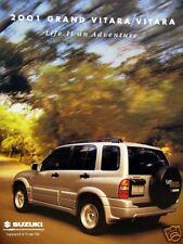 2001 Suzuki Grand Vitara/Vitara new vehicle brochure