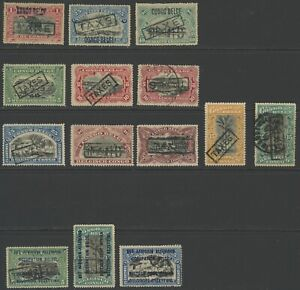 BELGIAN CONGO & OCCUPATION GERMAN EAST AFFRICA TAXE & TAXES POSTAGE DUE OVPTS