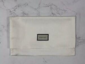"BRAND NEW Authentic Gucci Medium Silk Purse Storage Fold Over Dust Bag 9"" x 5.5"""