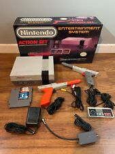 IN BOX & TESTED! NES NINTENDO ACTION SET original GENUINE console system bundle