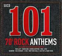 Various Artists - 101 70s Rock Anthems Nuevo 5CDs