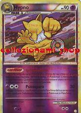 HYPNO - REVERSE FOIL 23/123 - HEART GOLD SOUL SILVER - POKEMON - ITALIANO