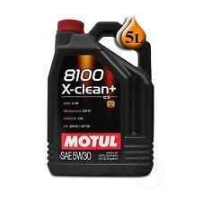Motul 8100 X-Clean + C3 5W-30 5LB