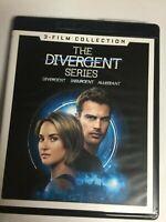 Divergent/Insurgent/Allegiant(4K Ultra HD Blu-ray,2017,3-Disc Set)Not a Scratch!