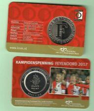 Feyenoord kampioenspenning in coincard 2017