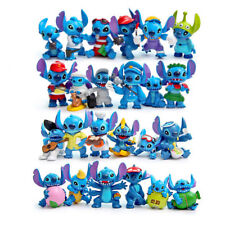 24pcs Disney Lilo & Stitch Action Figures Display Collection Kids Toy Gift
