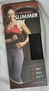 "Bally Fitness Slimmer Belt Fits Up to 38"" Waist, Burn Calories Trims 10"" Wide"