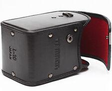 "Vintage Tamron Hard Lens Case L-10 For Telephoto Zoom Prime Lenses 5 3/4"" High"