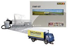 Faller 162007 Spur N Car System Start-Set LKW MB SK Dachser#NEU in OVP##