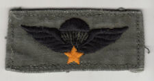 US Machine Embroidered Vietnamese Basic Airborne Wings, SF, 173rd