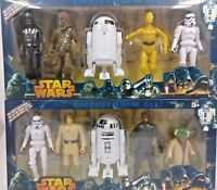 Star Wars 5 Action Figure Box Set C3PO, Darth Vader, Chewbecca, R2-D2 Yoda AU