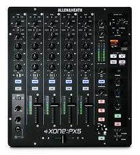 ALLEN & HEATH XONE PX5 - 4+1 CHANNEL DJ PERFORMANCE MIXER / Authorized Dealer