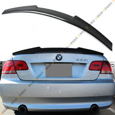FOR 2007-12 BMW 335i 328i 2 DOOR COUPE M4 STYLE CARBON FIBER TRUNK SPOILER WING
