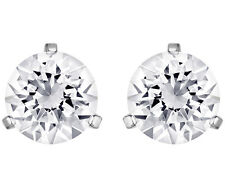 Swarovski Crystal Solitaire Pierced Stud Earrings Pair 1800046 NIB