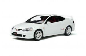 HONDA INTEGRA DC5 resin model car white body 2001 1:18 OTTO MOBILE 348