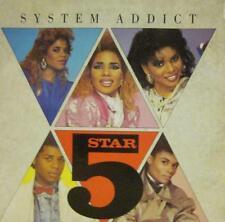"""5 Star(7"""" Vinyl)System Addict-Tent-PB 40515-UK-1985-Ex/Ex"""