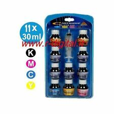 KIT ENCRE UNIVERSEL RECHARGE CARTOUCHES D'ENCRE IMPRIMANTE CANON EPSON BROTHER