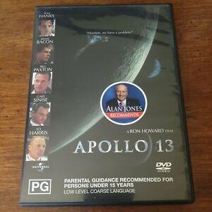 Apollo 13 DVD R4 Like New! FREE POST