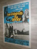XXL Filmplakat  UN CADAVERE PER ROCKY -Louis de Funès, Michel Serrault