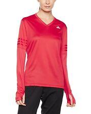 Adidas Running | Women's T-Shirt w/ Thumb Holes | Red | Climalite | RRP £29.95