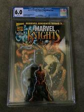 1998 Marvel Knights WAVE 2 Sketchbook CGC First YELENA BELOVA Blonde BLACK WIDOW