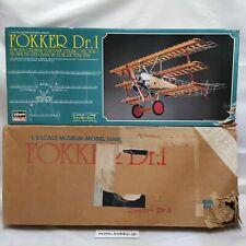 Hasegawa 1/8 Fokker Dr.1 Musée Modèle Séries W.W.I Allemagne de Combat Kit 3