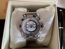 Señoras reloj de estrás inspirado diseñador D&g Nuevo