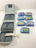 Lot of 7 Leapster Video Games Sonic, Batman, Nihao Kai-Lan, Ratatouille,Thomas +