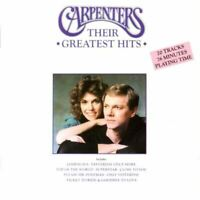 CARPENTERS their greatest hits (CD, compilation) best of, 20 tracks, soft rock,