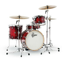 Gretsch Catalina Club 4 Piece Drum Set (20/12/14/14SN) Gloss Crimson Burst CT1-J