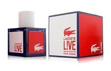 Lacoste LIVE Men Cologne 3.3 3.4 OZ 100 ML Eau De Toilette Spray Nib Sealed