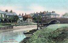 Upper Beeding Bridge River Ardur Nr Steyning unused old pc
