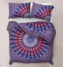 Indian duvet doona cover comforter mandala bohemian full bedding quilt cover set