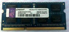 Laptop Notebook Kingston 4GB DDR3-1333 ACR512X64D3S13C9G SODIMM Memory Ram