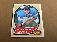 1970 Topps Set Break #249 Alex Karras Ex mint rare Detroit lions legend