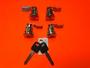 1997-2014 FORD ECONOLINE E SERIES DOOR LOCK CYLINDER SET 4 LOCKS NEW 2 KEYS!
