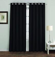 Eyelet BlackOut Thermal Ring Top 46x54 46x72 66x54 66x72 66x90 90x90 Curtains