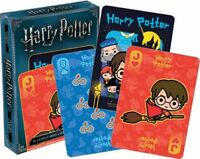 HARRY POTTER - CHIBI - PLAYING CARD DECK - 52 CARDS NEW - 52525