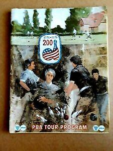 1976  PBA TOUR PROGRAM, Professional Bowling Association  Bicentennial Issue
