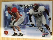 BRIAN URLACHER RC 🏈 2000 Fleer Dominion Rookies Pairs #242 Bears Corey Moore RC